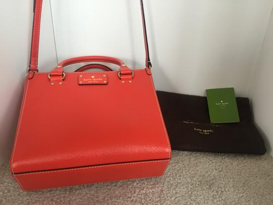 Kate Spade Satchel in Red ( Empirered )