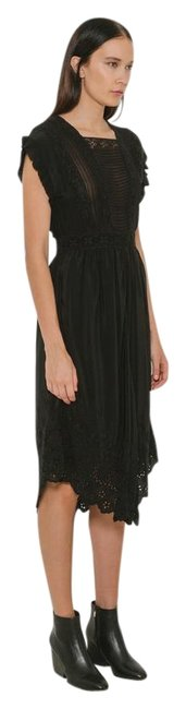 Item - Black Genevive Mid-length Casual Maxi Dress Size 0 (XS)