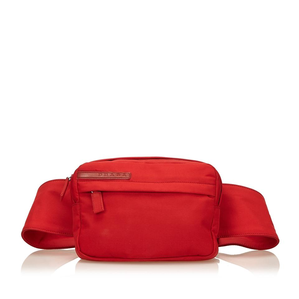 a63ae62371f7e6 Red Prada Nylon Belt Bag | Stanford Center for Opportunity Policy in ...