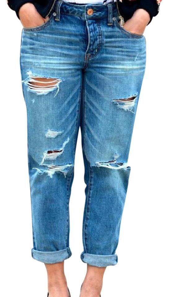 629119d759e American Eagle Outfitters Capri/Cropped Denim-Distressed Image 0 ...