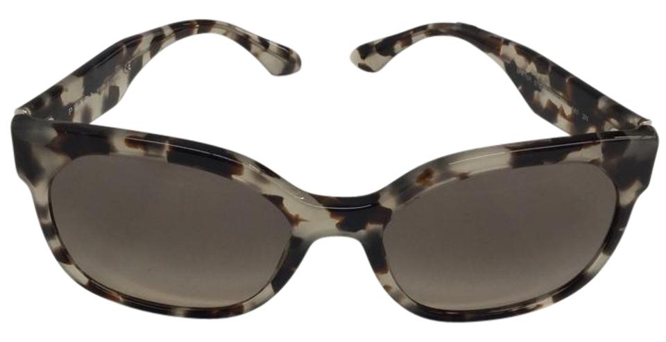 99bb08f005f10 Prada Brown Gradient Grey Spr 10-r Sunglasses - Tradesy