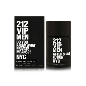 Carolina Herrera 212 VIP MEN BY CAROLINA HERRERA-AFTER SHAVE LOTION-MADE IN SPAIN