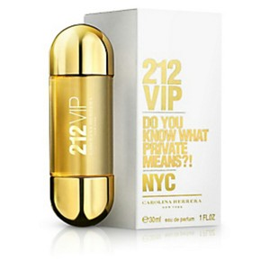 Carolina Herrera 212 VIP BY CAROLINA HERRERA FOR WOMEN-MADE IN SPAIN