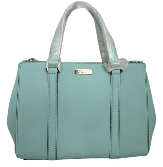 Preload https://item4.tradesy.com/images/kate-spade-small-loden-newbury-lane-saffiano-purse-handbag-cyber-blue-leather-satchel-2219673-0-0.jpg?width=440&height=440