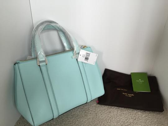 Kate Spade Satchel in cyber blue