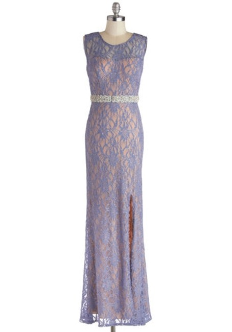 City Triangles Prom Lace Evening Dress