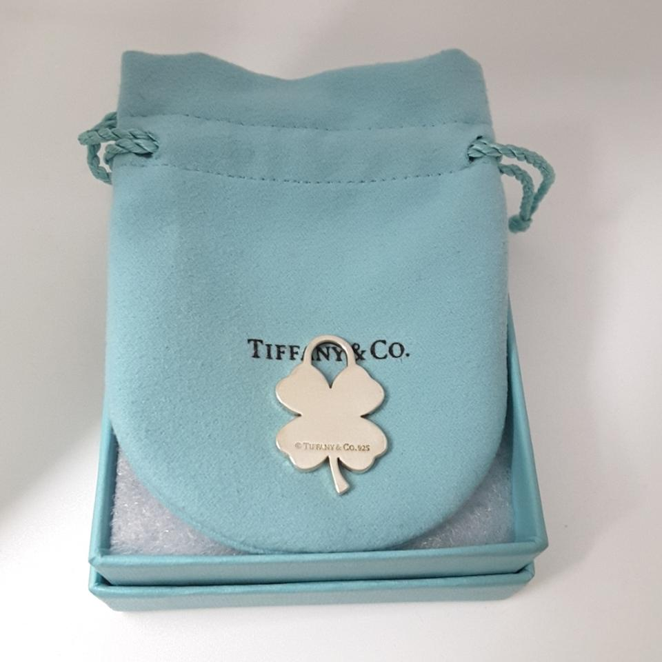 Tiffany Amp Co Co Four Leaf Clover Sterling Silver Lucky