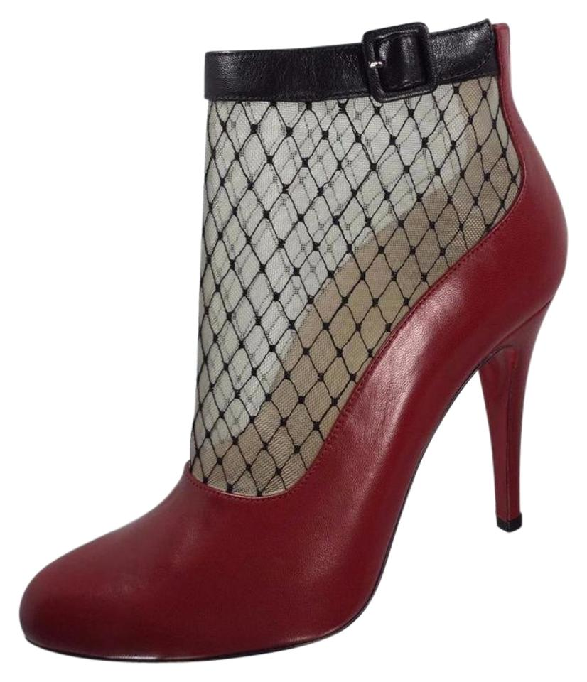 6325633a81b Christian louboutin red fishnet resillissima boots booties size jpg 826x960 Red  christian louboutin booties