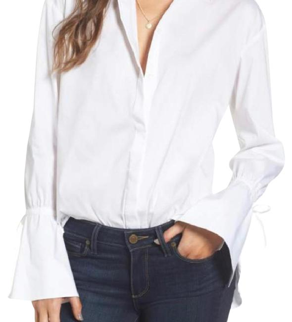 Preload https://item5.tradesy.com/images/white-ruffle-cuff-tunic-button-down-top-size-8-m-22197569-0-1.jpg?width=400&height=650