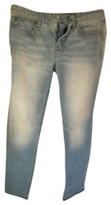 Gap 1969 Low-rise Straight Leg Jeans-Distressed