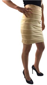 Camilla and Marc Body-con Dress Tight Snug Pencil Mini Skirt peach