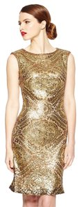 Sue Wong Sequin Beaded Formal Special Occasion Semi-formal Dress