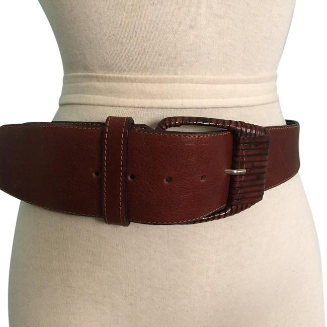 Item - Brown Made In Italy Belt