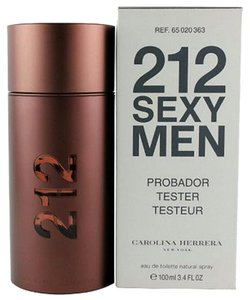 Carolina Herrera 212 SEXY MEN BY CAROLINA HERRERA- TESTER-SPAIN