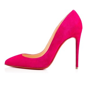 Christian Louboutin Pigalle Follies Stiletto Classic Suede pink Pumps