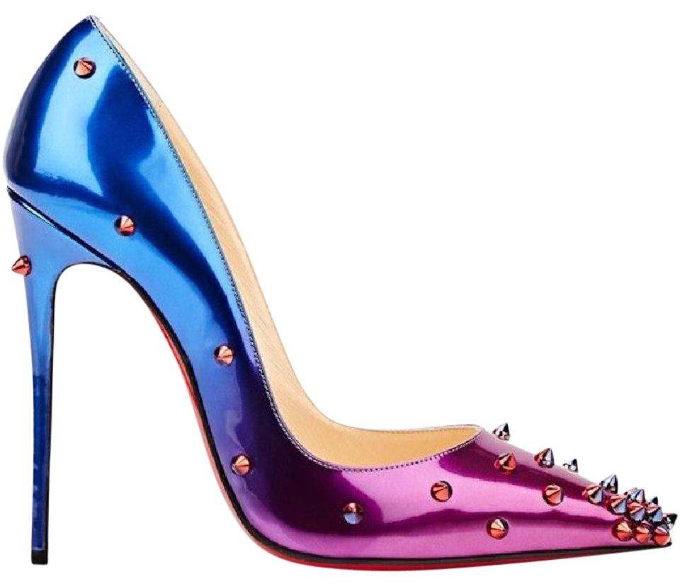 88501f4d3edf Christian Louboutin Degraspike Stiletto Sokate Kate Pigalle blue Pumps  Image 0 ...