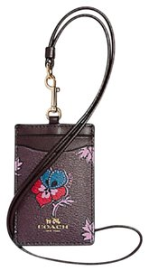 Coach Coach ID LANYARD IN WILDFLOWER PRINT ID Holder F 12554 63274