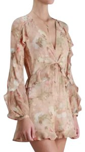 ZIMMERMANN short dress creme on Tradesy