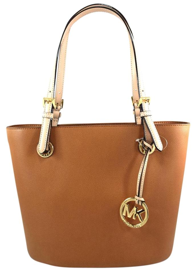 michael kors jet set item brown acorn tote bag on sale 41 off totes on sale. Black Bedroom Furniture Sets. Home Design Ideas