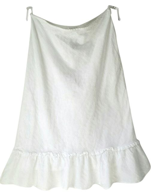 Jones New York Boho Summer Size 12 Under 25 Skirt white