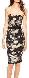 PAPER DOLL Bandeau Pencil Dress