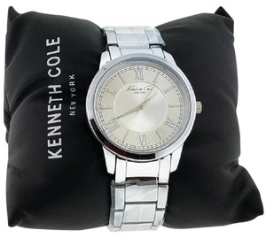 Kenneth Cole KCW4000 Men's Silver Steel Band With Silver Analog Dial Watch