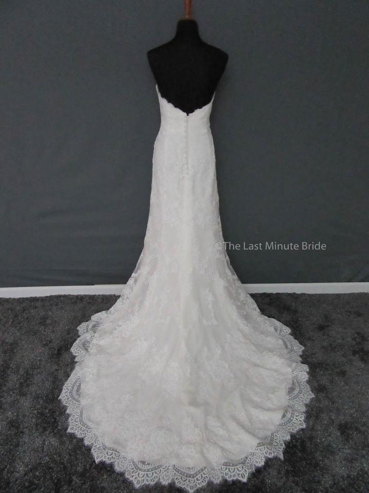 Essense of Australia Ivory/Ivory/Gold Accent Lace D2106 Feminine ...