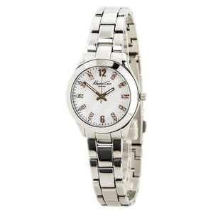 Kenneth Cole KCW4022 Women's Silver Steel Band With Mother Of Pearl Dial