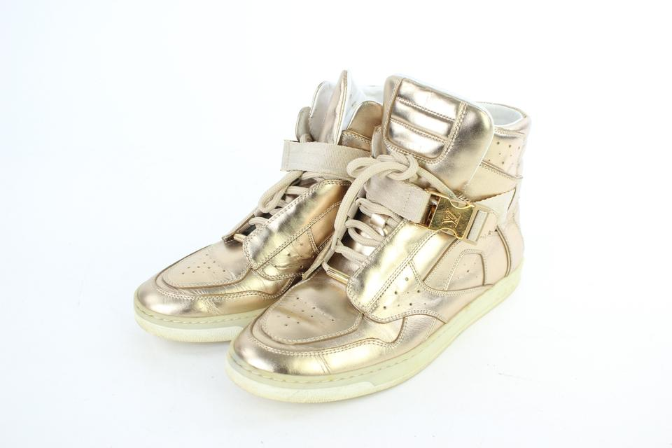 c21ca7669deb Louis Vuitton High Top Up Town Buckle Basketball Boot GOLD Athletic Image  11. 123456789101112