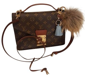 Louis Vuitton Monceau Metis Pochette Monogram Pochette Cross Body Bag