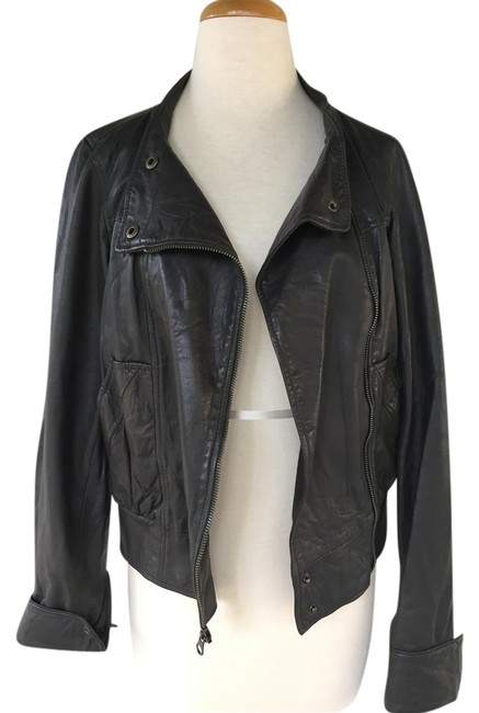 Mike chris leather jacket