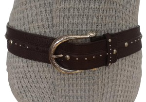 Michael Kors Michael Kors Wide Studded Leather Belt Style 552632