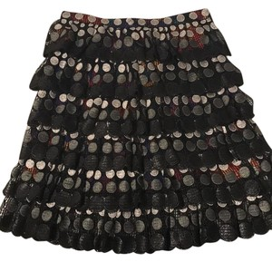 Marco de Vincenzo Skirt black and multi-colored