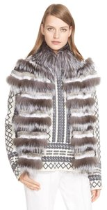 Tory Burch Fur Winter Vest Cape Fox Coat