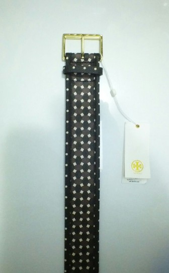 Tory Burch TORY BURCH JAVA MULTI HABER PRINT BUCKLE BELT SIZE XS NWT Image 2