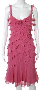 Kay Unger Ruffled Party Dress