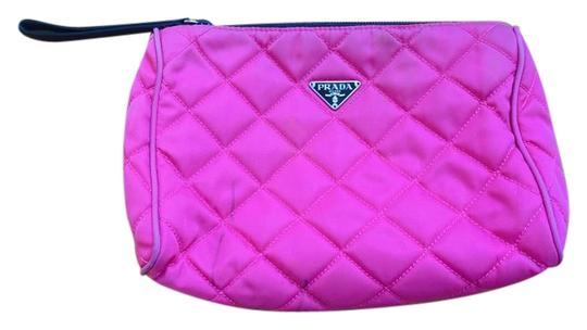 Preload https://img-static.tradesy.com/item/22203604/prada-pink-cosmetic-bag-0-1-540-540.jpg