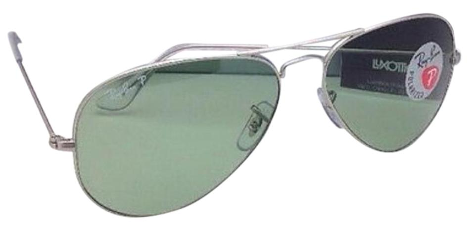 bdd39f89b1 Ray-Ban Polarized Ray-Ban Sunglasses LARGE METAL RB 3025 019 O5 Silver ...