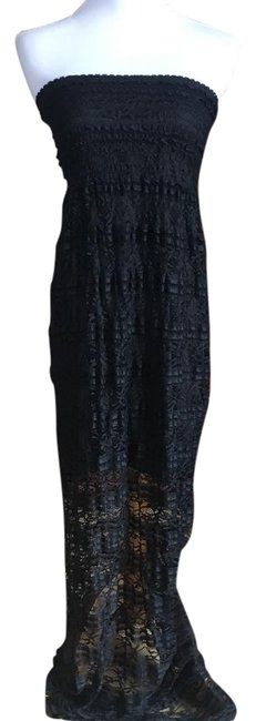 Item - Black Long Casual Maxi Dress Size 4 (S)