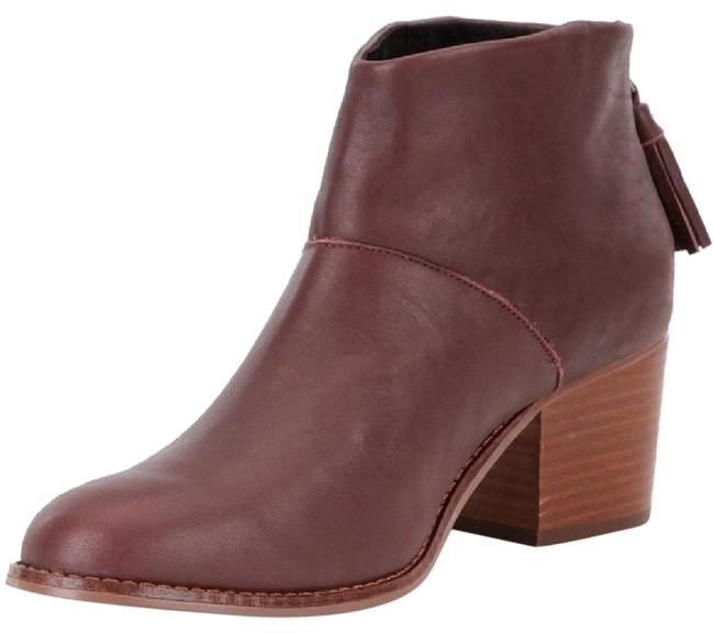 Item - Oxblood Leila Ankle Boots/Booties Size US 7.5 Regular (M, B)