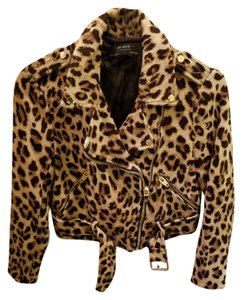 Zara Cheetah Animal Print Cropped Cheetah print Jacket