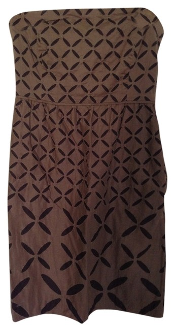 J.Crew short dress Brown on Tradesy