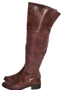 Promod Over The Knee Brown Boots