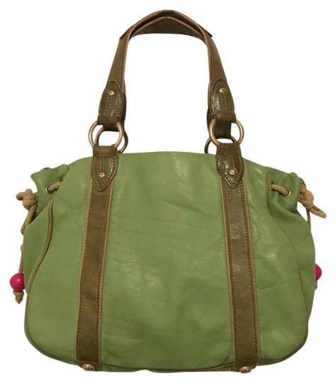 Preload https://img-static.tradesy.com/item/22206186/marc-jacobs-vintage-distressed-green-leather-tote-0-1-540-540.jpg