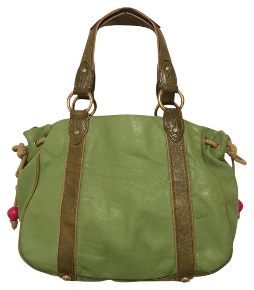 e39a0e5593d0 Marc Jacobs Vintage Distressed Green Leather Tote - Tradesy