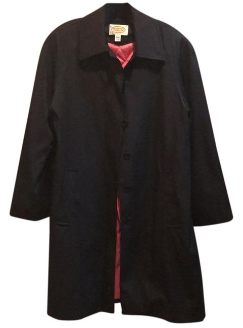 Item - Black with Pink Lining Removeable Liner Coat Size 10 (M)
