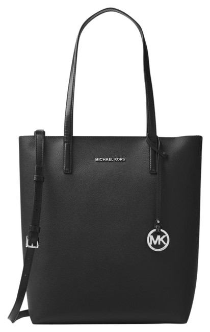 Item - Hayley Large Black/Silver Canvas Tote