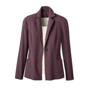 Coldwater Creek plum purple Blazer