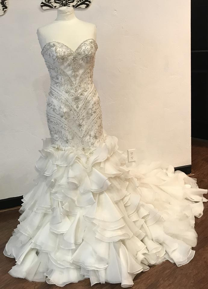 Maggie sottero serencia wedding dress on tradesy for Best way to sell used wedding dress
