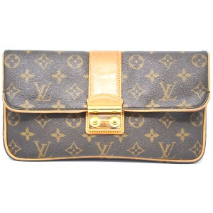 Louis Vuitton Sofia Coppola Monogram Clutch